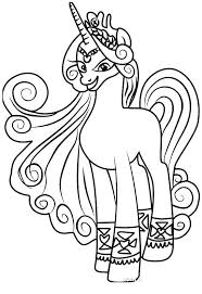 My Little Pony Characters Coloring Pages My Little Pony Characters