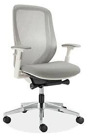white modern office chair. Sylphy Office Chairs In White - Modern \u0026 Task Furniture Room Board Chair F