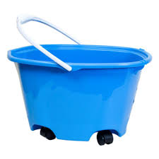 20 gallon bucket. 20 Qt. Plastic Bucket Wheels 5 Gal. Pail Rolling Sponge Wet Mop Casters Handle Gallon