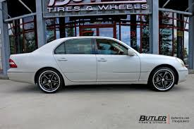 Lexus LS430 with 20in TSW Rivage Wheels exclusively from Butler ...