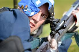 u s department of defense photo essay trevor hengehold prepares to shoot during the 2014 interservice rifle competition on