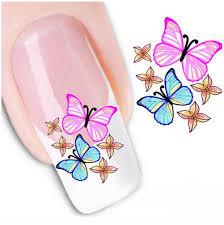 delicate 6 Sheets Nail Art Sticker Nail Art Tips Decal Beauty ...