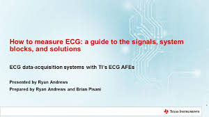 How To Measure Ecg Introduction What Is Ecg Ti Com Video