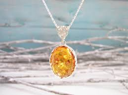fancy amber pendant necklace natural