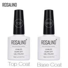 Гель-лак для ногтей ROSALIND, 10 мл, верхнее <b>Базовое</b> ...