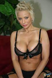 Short Haired Blonde Mature