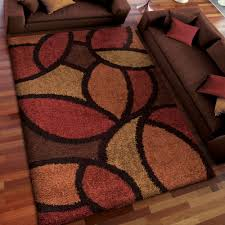 red area rugs luxury home dynamix ariana 3 piece area rug set ebony red