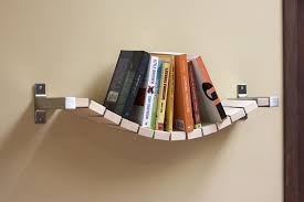 picture of rope bridge bookshelf