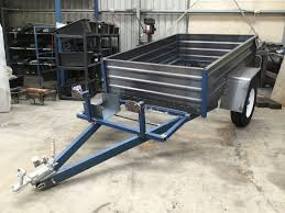 Tipping Box Trailer Designs 2000kg Atm Box Trailer Custom Built For Mowing Business