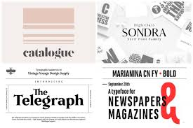Newspaper Fonts 20 Newspaper Fonts Worthy Of The Front Page Hipfonts