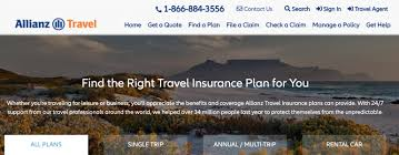 allianz travel insurance what you need
