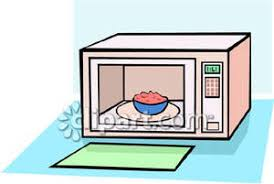 microwave clipart. a microwave with food in it royalty free clipart picture