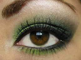emerald green eye shadow faviana fantastic makeup