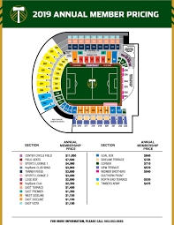 Pge Park Seating Chart 19 Meticulous Providence Park Seating Chart