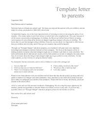 Parent Letters From Teachers Template Magdalene Project Org