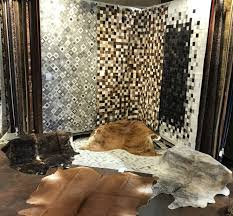 natural leather rug cowhide collection by behnam rugs dallas