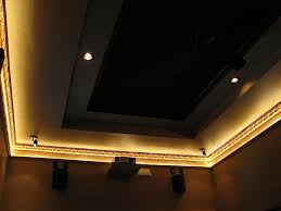 crown moulding lighting. Light Tray Using Only Crown Molding Avs Forum Home Moulding Lighting V