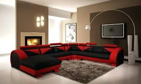 Gray And Red Living Room Home Designs Gray And Red Living Room