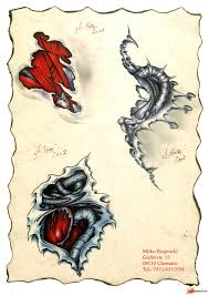 эскизы татуировок в стиле биомеханика
