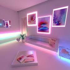 lighting for room. xternalnecessity part 1 of a collab series virtual room i conceptualized featuring the works artist lighting for