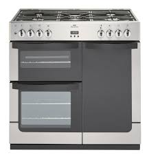 New World Vision 900G Gas Range Cooker Stainless Steel