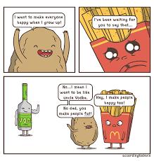 A Potato Life Of Comics