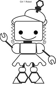 706+ Tranh tô màu Robot ngộ nghĩnh mạnh mẽ cho bé