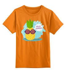 Детская футболка классическая унисекс <b>Hello summer</b>! #2018736 ...