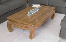 140cm rustic recycled teak rectangular opium coffee table