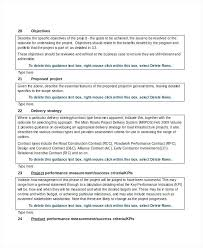Project Proposal Template Free Word Documents Samples Ppt Business