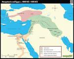 mesopotamia and Egypt Map