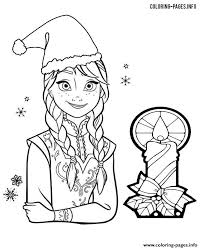 frozen christmas coloring pictures. Wonderful Frozen Print Princess Anna Frozen Christmas Coloring Pages On Christmas Coloring Pictures R