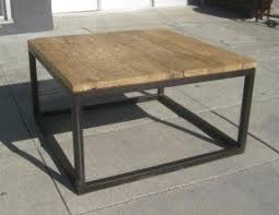 FURNITURE U0026 COLLECTIBLES: SOLD   Iron And Wood Coffee Table   $50 .
