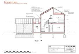 new build house plans sections