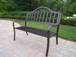 Stunning Black Iron Bench Outdoor Create Your Outdoor With French Garden Metal Bench