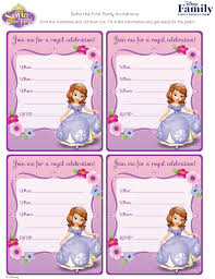 Online Printable Birthday Party Invitations Kids Party Invitations The Ultimate Guide Disney Family