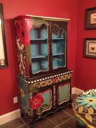 funky hand painted furniture funky painted furniture hand painted hutch bright and cheery carolyn funky furniture