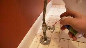 rusted and stuck plumbing fixtures