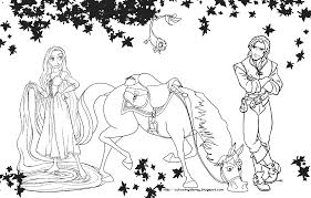 Small Picture Rapunzel Printables Colouring Pages 6 Disney Tangled Coloring