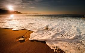 beach waves-beach scenery wallpaper ...