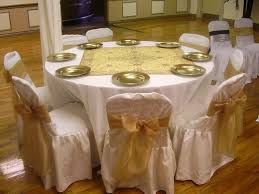 square overlay round table