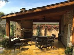 Covered Patio Fire Pit Ideas Outdoor Firepit Design Cost Of New