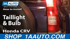 Crv Brake Light Replacement How To Replace Tail Light 02 04 Honda Cr V