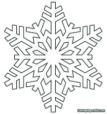 Snowflake Template Printable Free Large Patterns 3d Paper