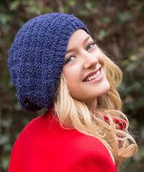 Free Slouch Hat Knitting Patterns Beauteous 48 Free Easy Hat Knitting Patterns For Winter ⋆ Knitting Bee