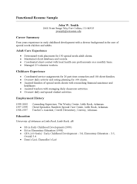 Cover Letter Free Functional Resume Templates Free Sample