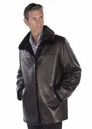 real mink fur filed jacket for men original leather jacket reversible jacket