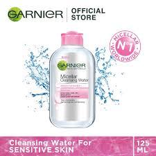 garnier micellar cleansing water gentle pink 125ml