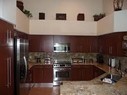modern kitchen cabinets shown in cherry wood modern kitchen
