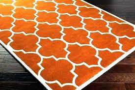 orange and gray rug orange and grey rug burnt orange rug burnt orange rug home interior orange and gray rug